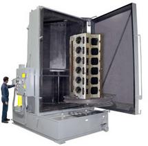 Heavy Duty Front Loading Cabinet Spray Washer
