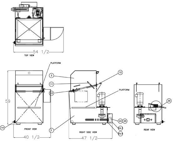 Cabinet Spray Washer System