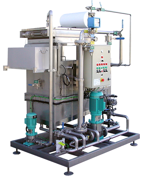 Ultra Filtration Waste Treatment System