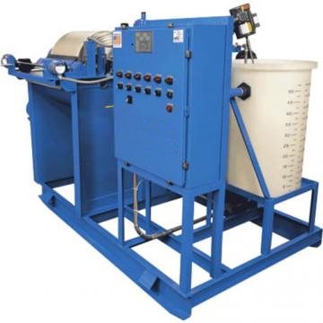 Dewatering System that filters industrial sludge